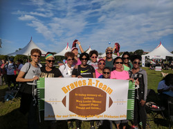 Braves A Team Diabetes Walk (Sep2703