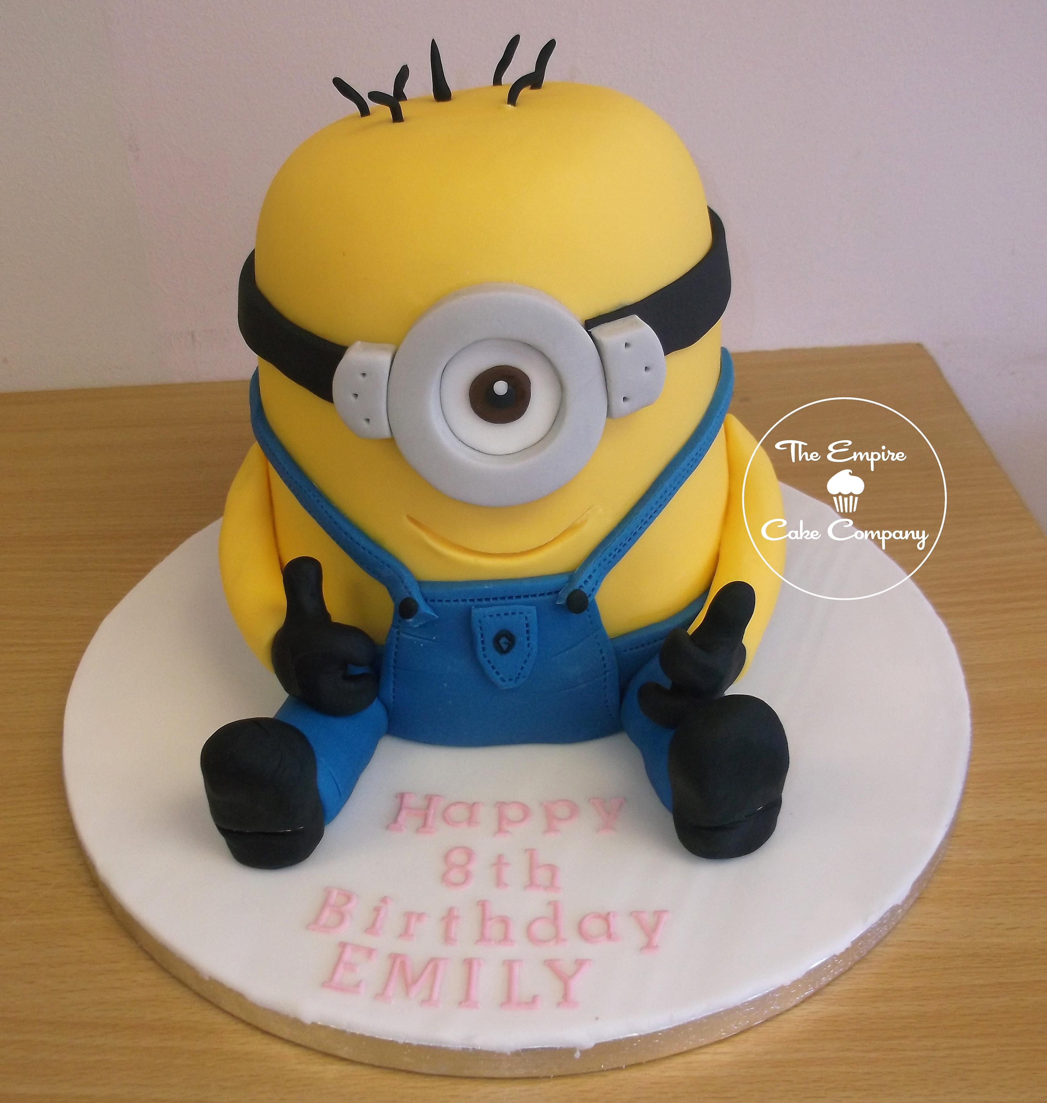 Minion D Cake Images