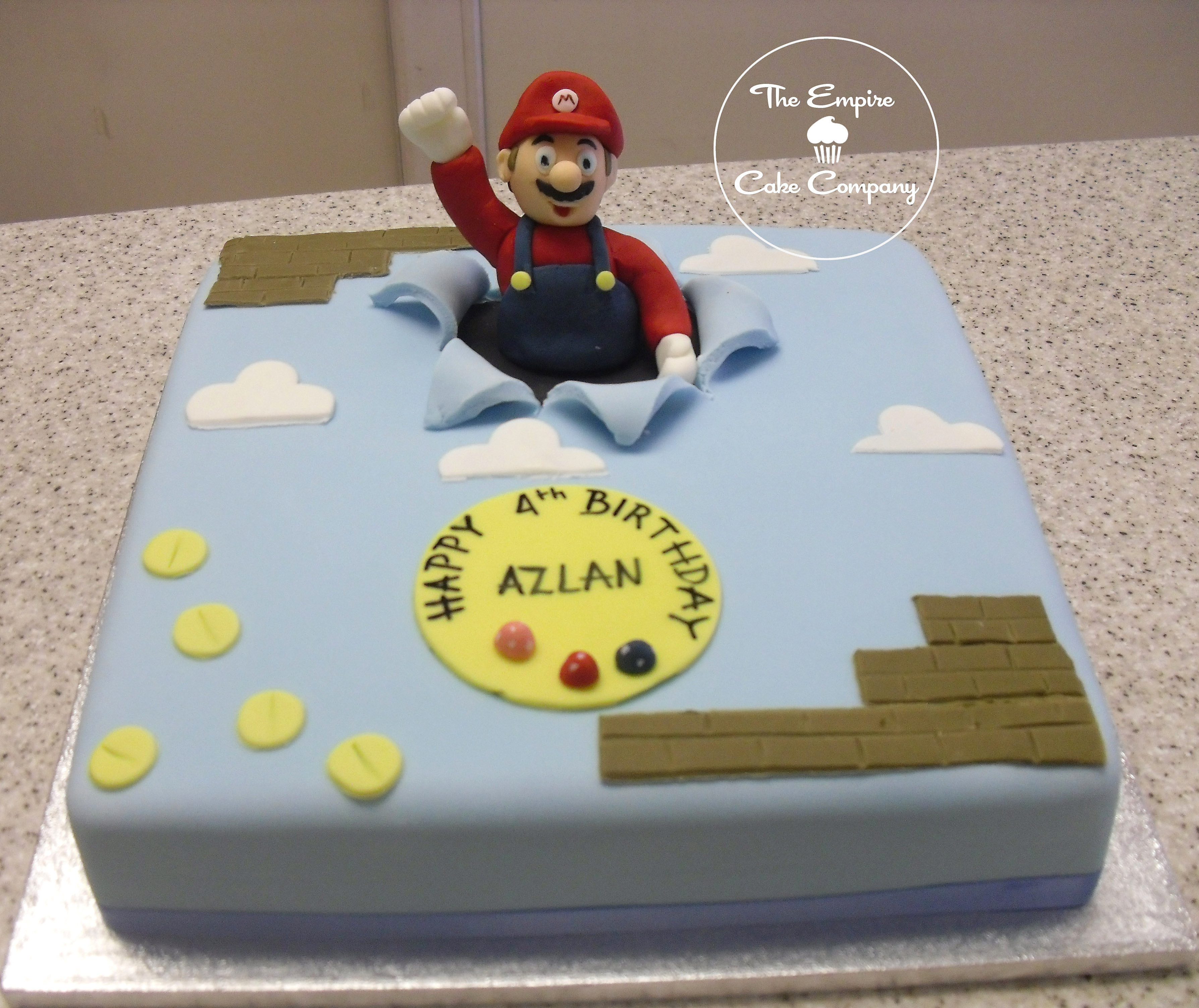 Super Mario Birthday Cake Pictures