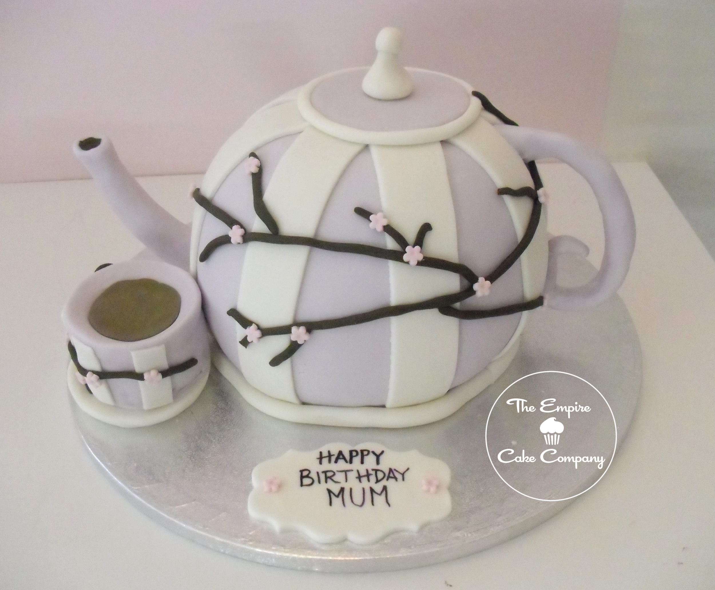 Teapot Cake Images