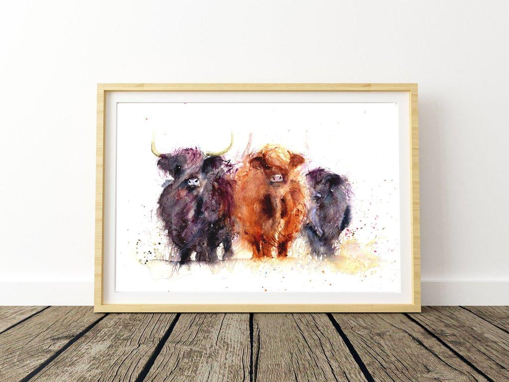 """""""les vaches higland"""""""