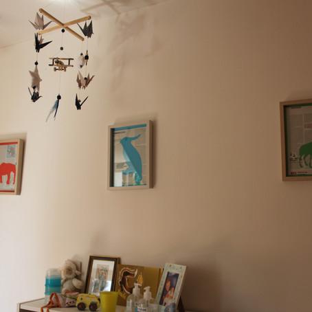Déco enfant : des cadres animaux pour leur chambre