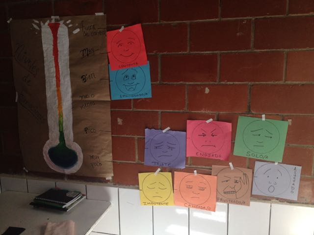 Feelings wall