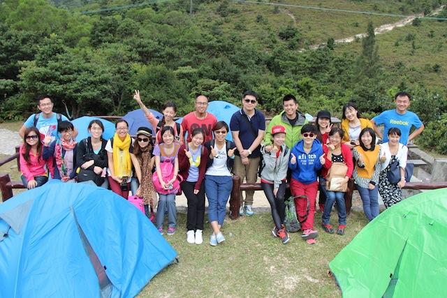 機構露營聚會
