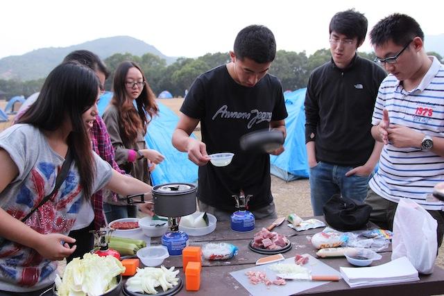 戶外烹飪比賽