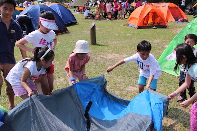 兒童露營體驗