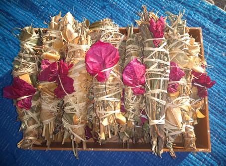 Defumadores de ervas - Nossa Caza Encantada