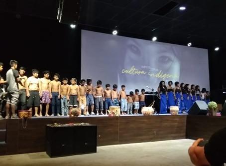 Apresentação do Coral Guarani - aldeia Yynn Morotim Wherá - Biguaçú/SC