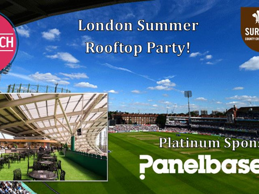 The Research Club Celebrates the return of its F2F Events with a Summer Party at the Kia Oval