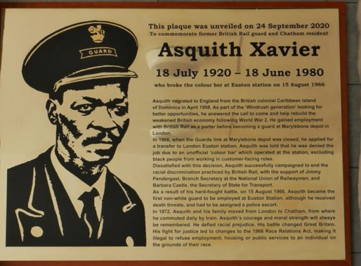 Omitted from History: Asquith Xavier