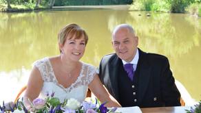 Congratulations to George & Rochelle