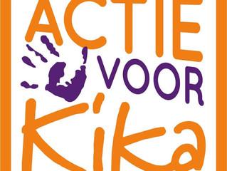 De kinderen van de Plu halen €1000,- op voor Kika!