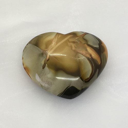 Jasper Polished Heart