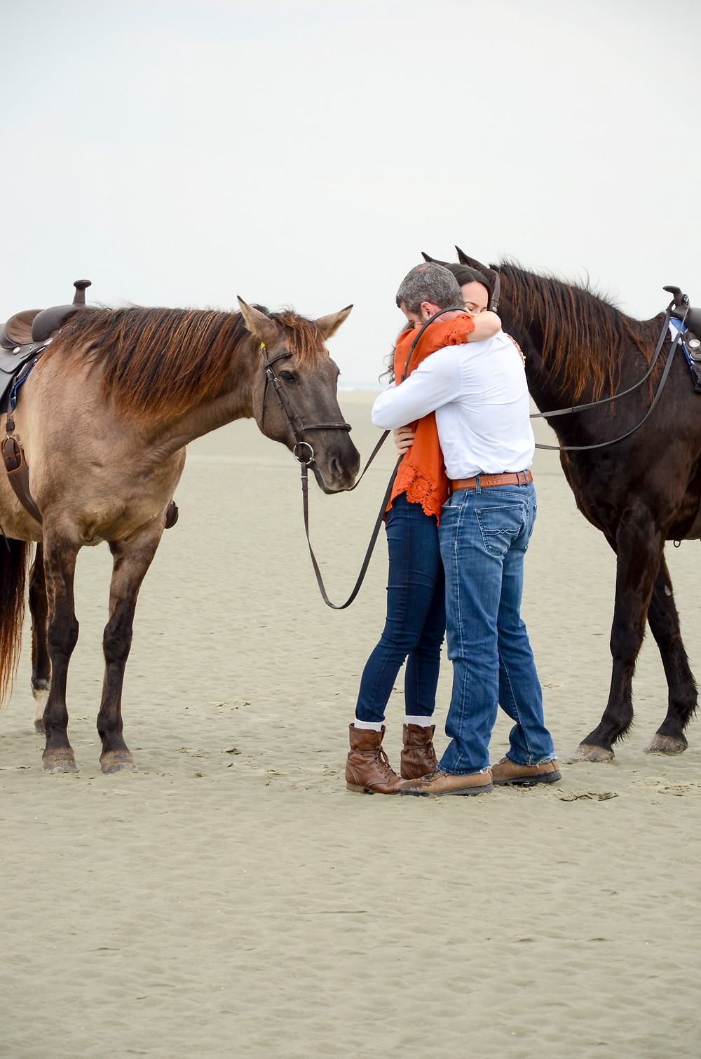 Surprise Engagement Proposal at Seabrook Island Equestrian Center
