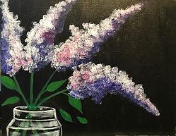 Lilacs in Mason Jar - Level 1