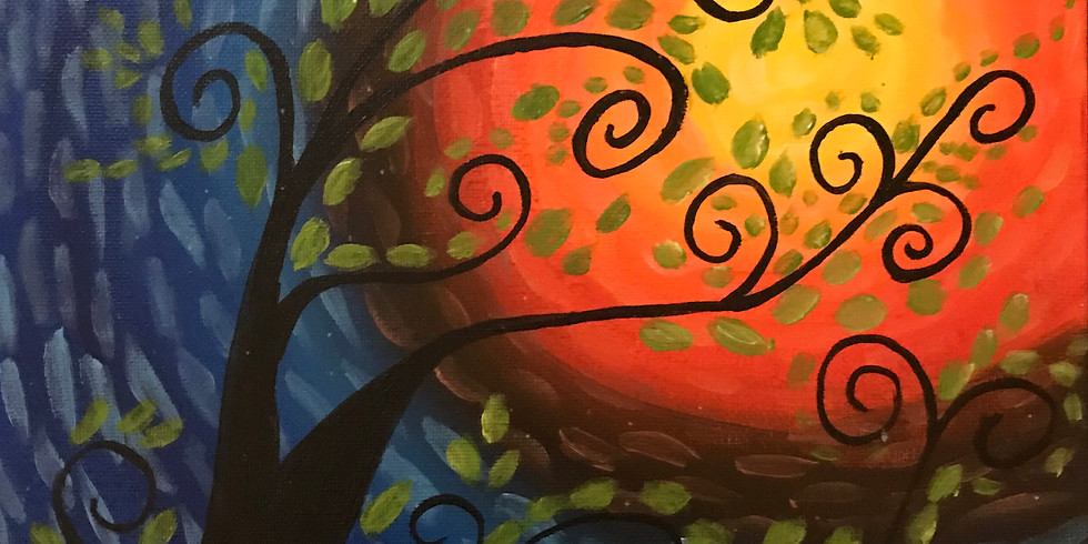 Whimsical Tree Paint Class