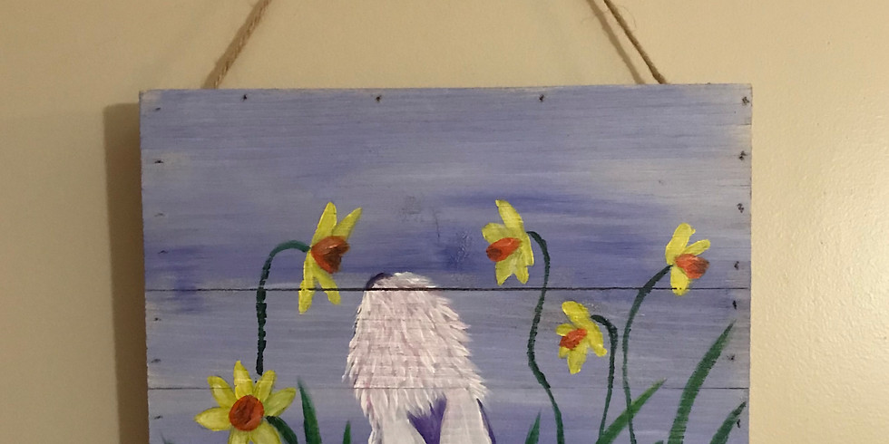 Bunny & Daffodils