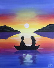 Sunset Couple in Love Level 1