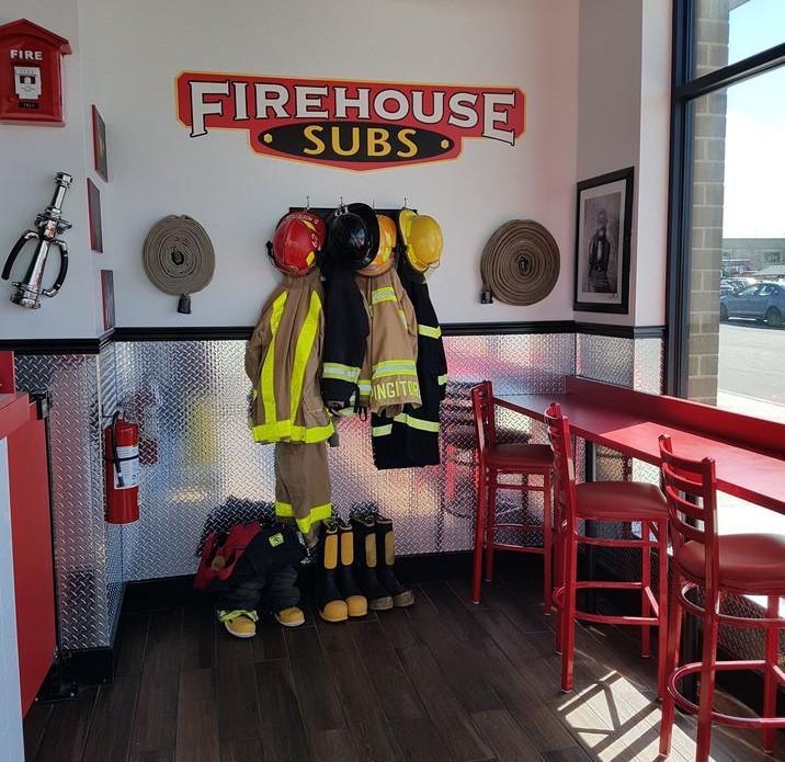 Firehouse Subs Interior