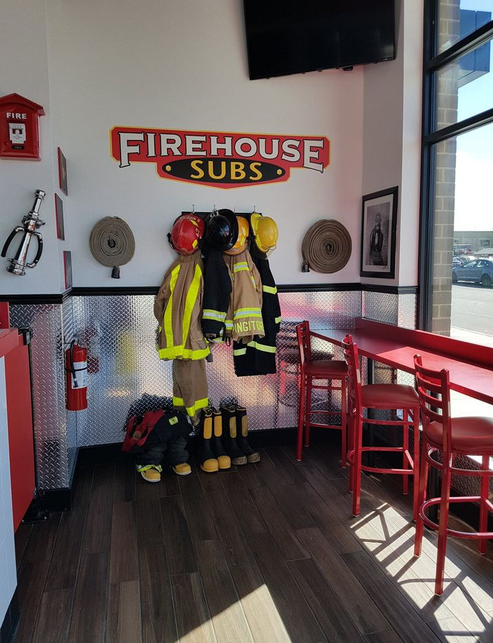 Firehouse Subs Interior