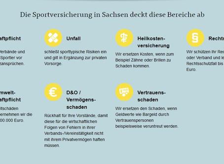 Absicherung unserer Mitglieder über die Sportversicherung der ARAG