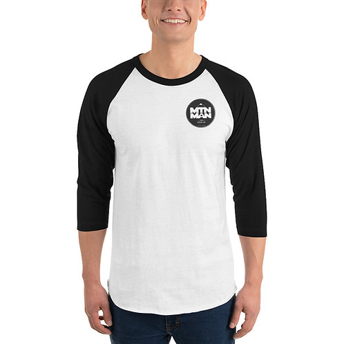 MTN MAN Badge - 3/4 sleeve raglan shirt