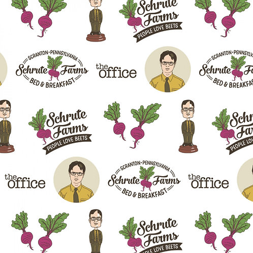 The Office Dwight Schrute Farms - Camelot Fabrics