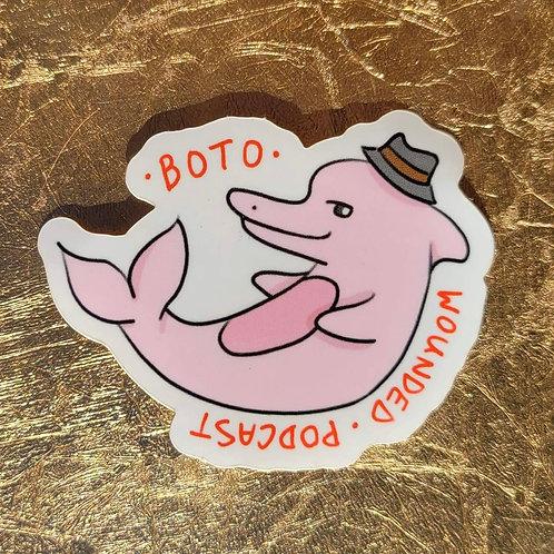 Boto (Pink Dolphin) Sticker