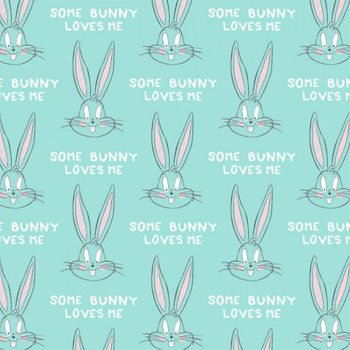 Light Blue Bugs Bunny Looney Tunes - Camelot Fabric
