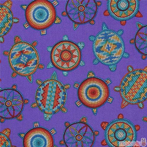Purple Beaded Turtles - Elizabeth Studios