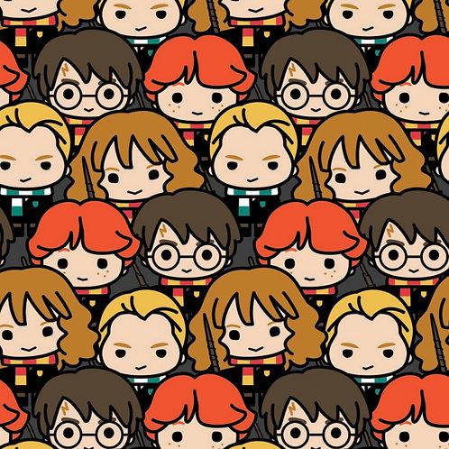 Multi Harry Potter Kawaii - Camelot Fabrics