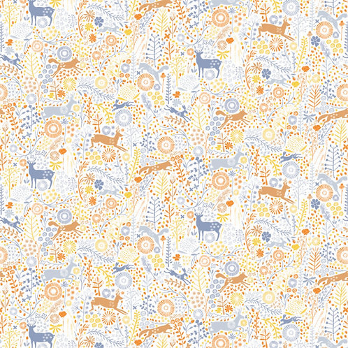 Multi Meadows Wildlife - Camelot Fabrics