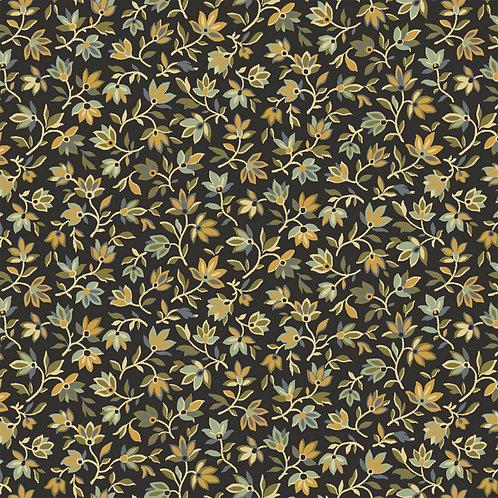 Black Mini Picked Floral - Windham