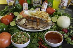 MOJARRA (FRIED TILAPIA FISH)