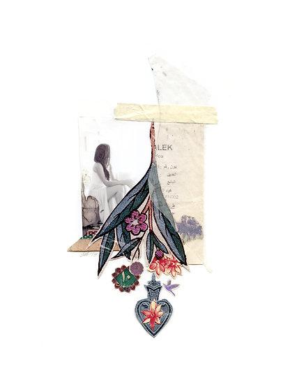 Hanging Flowers 8.5 X 11