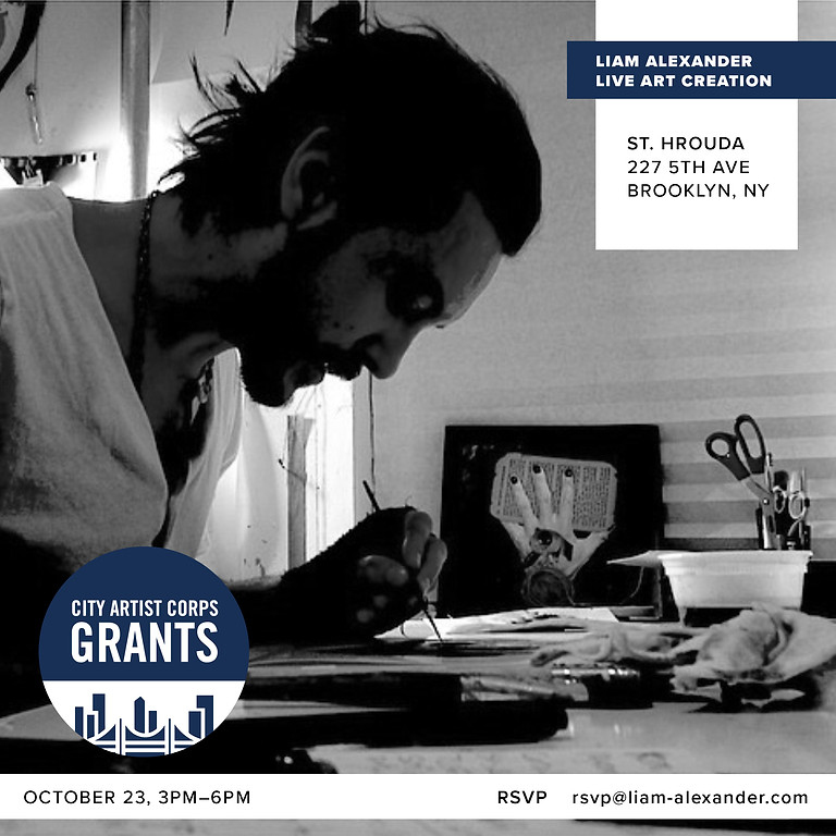Liam Alexander: Live Art Creation