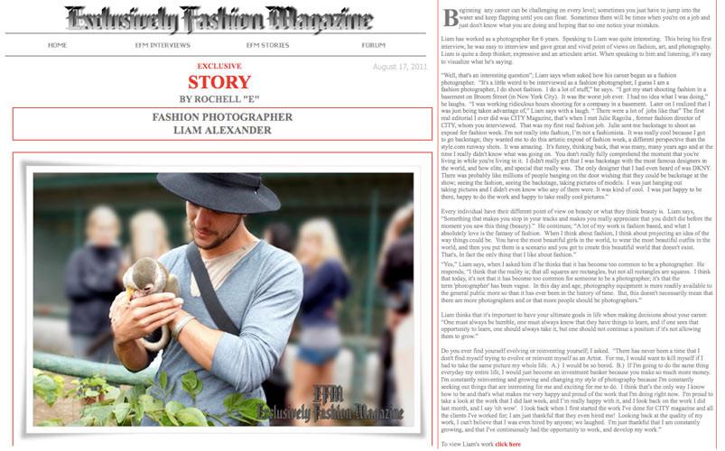 Exclusively Fashion Magazine