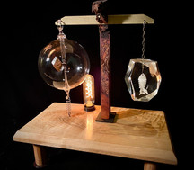 Ice Fishing Meditation Lamp