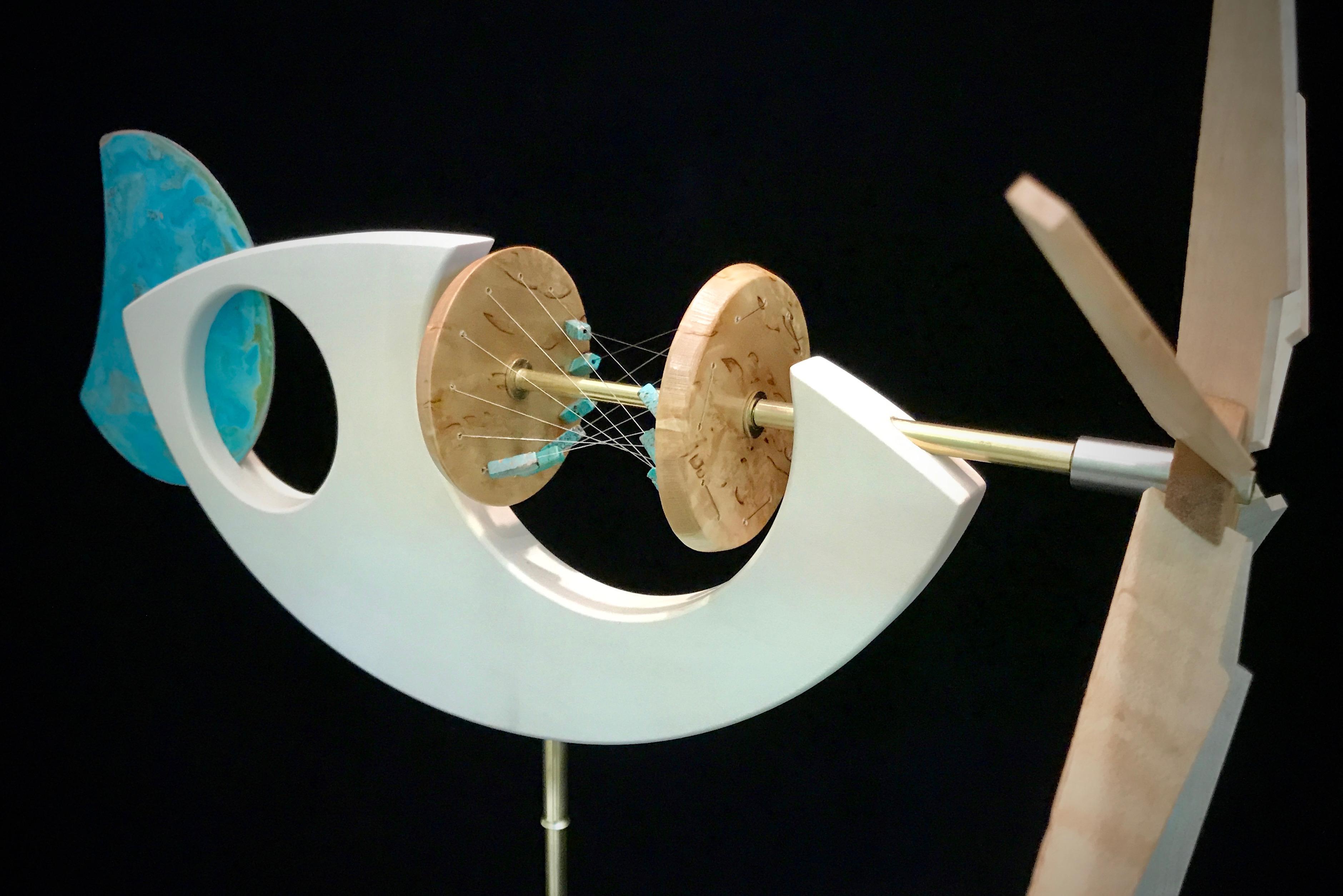 Turqouise Hyperbola Whirligig