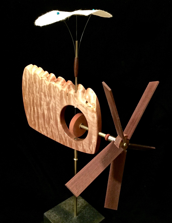 Paper Bird Whirligig