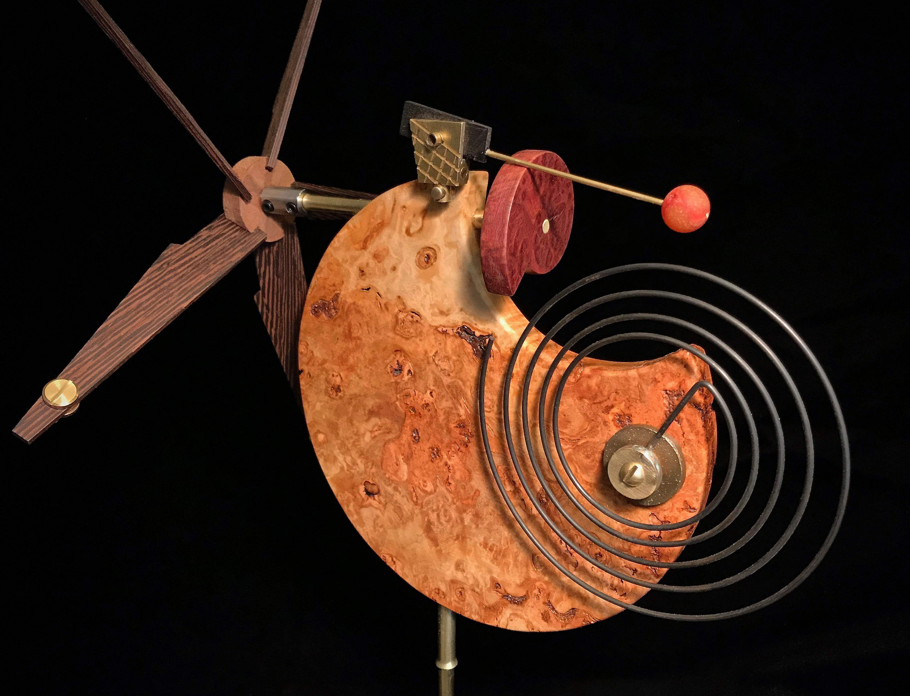 Moon Chime Whirligig