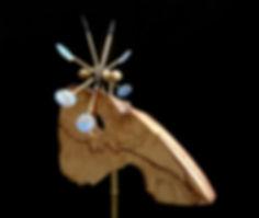 Big Leaf Spinner Whirligig