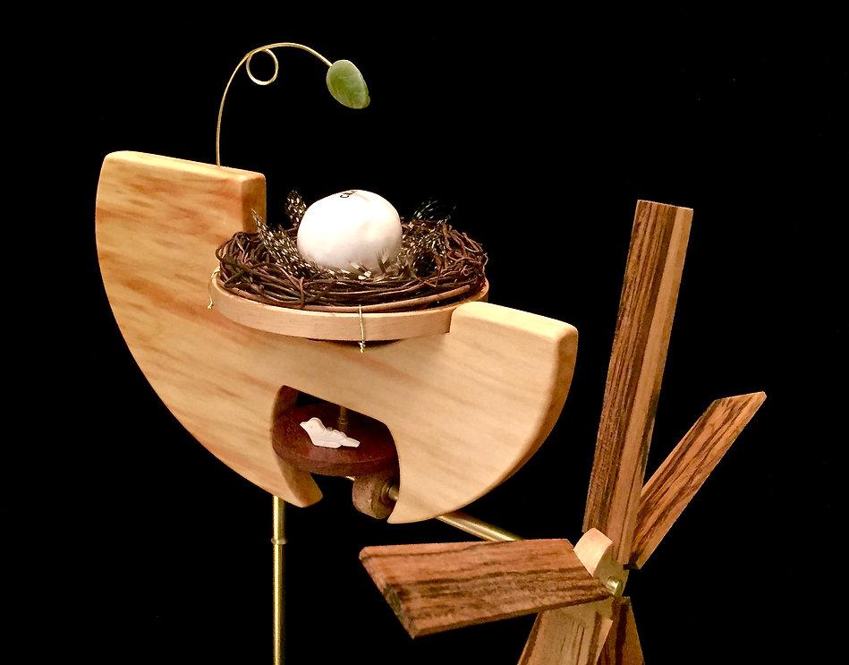 Birds Nest Whirligig