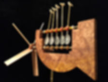 Pendulum whirligig handcrafted whirligig whirligigs whirligig whirlygigs contemporary American arts and crafts woodwork woodcraft