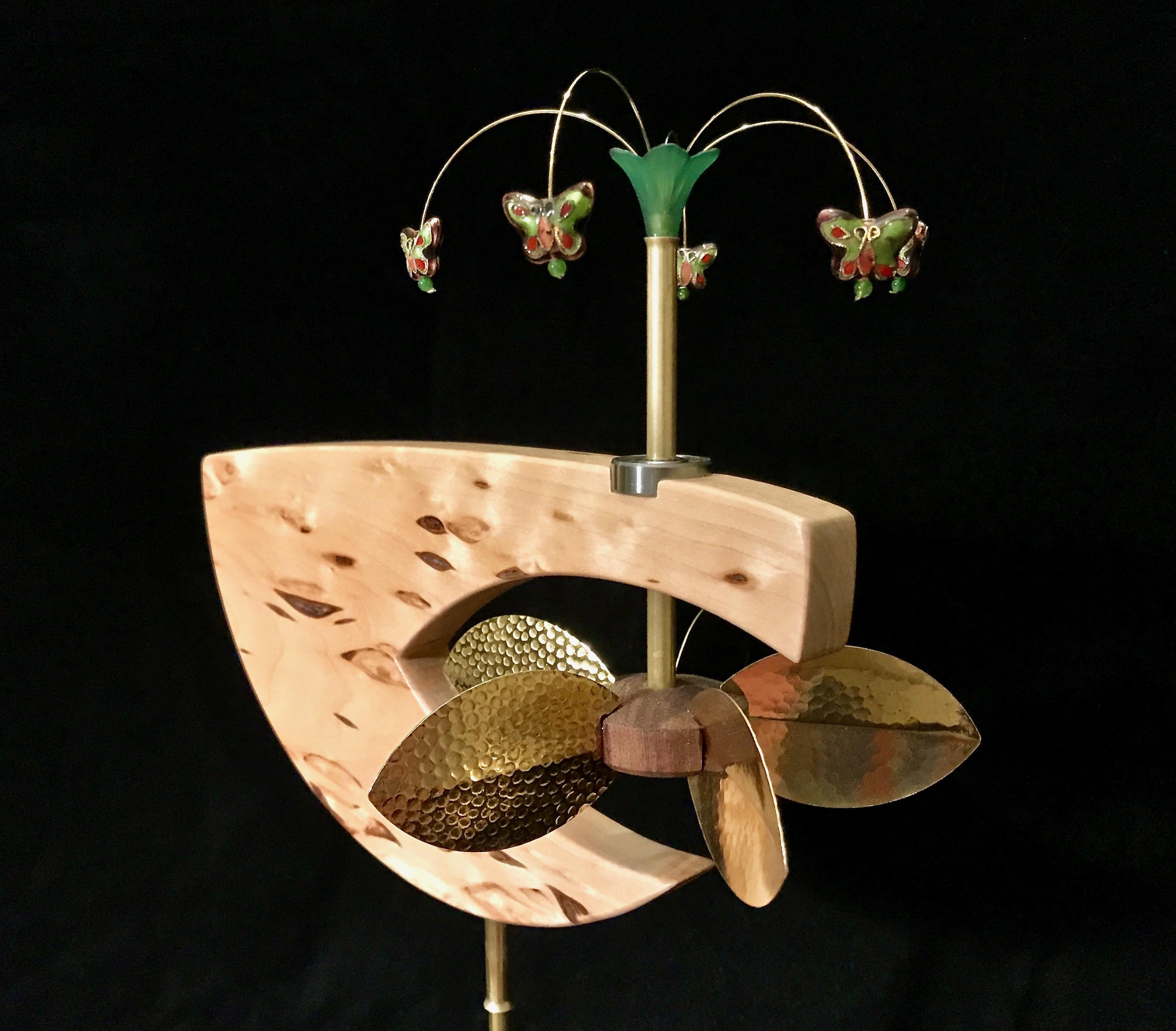 Butterfly Spinner Whirligig