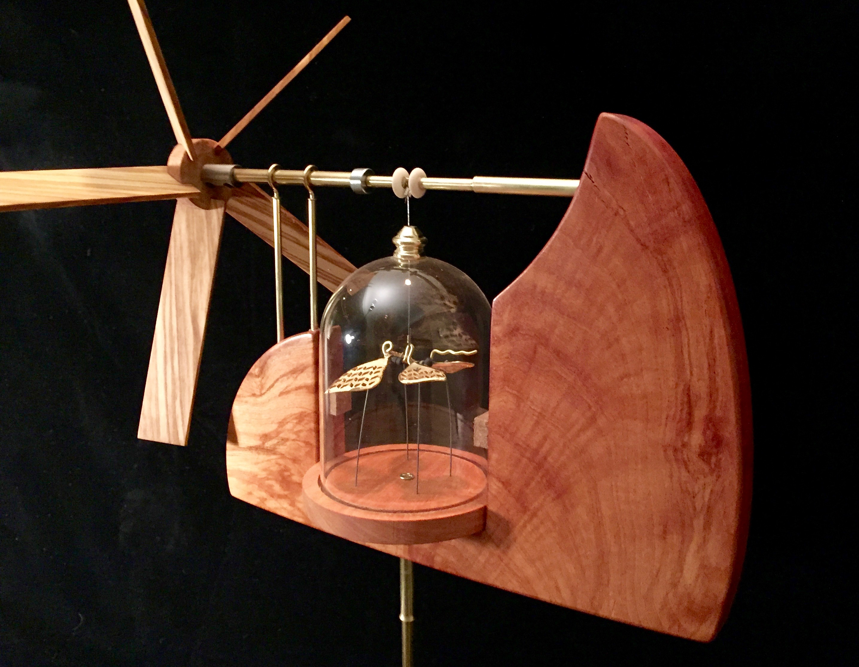 Glass Dome Whirligig