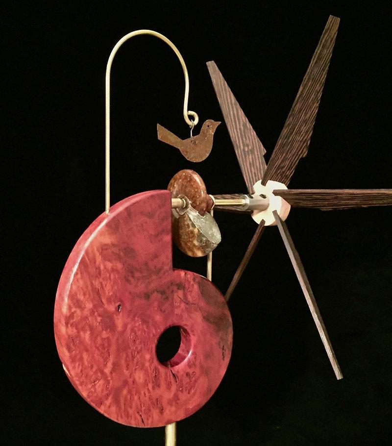 Ammonite Whirligig