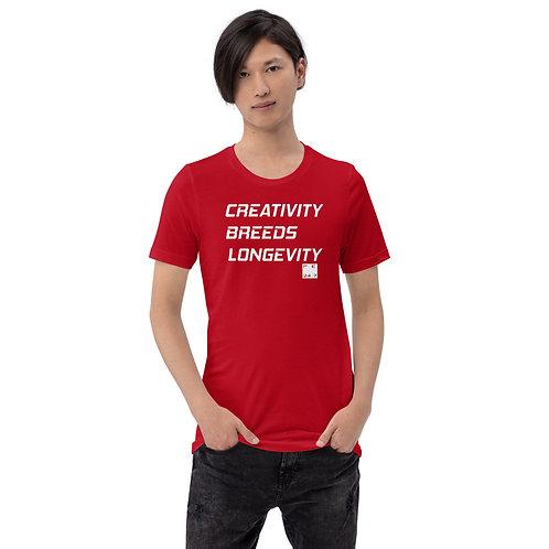 Creativity Breeds Longevity T-Shirt