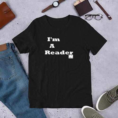 I'm a Reader Black T-Shirt