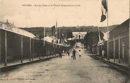 Rue de l'Alma, Nouméa